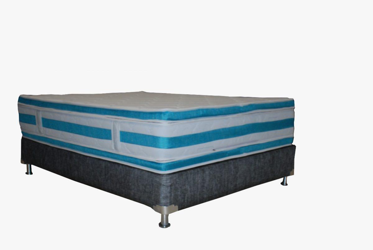 Colchón Ortopédico Súper-Pillowtop en Espiral Resortado
